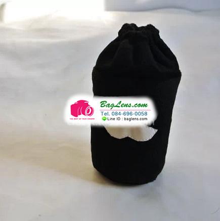 ถุงผ้าใส่เลนส์ Black Cat