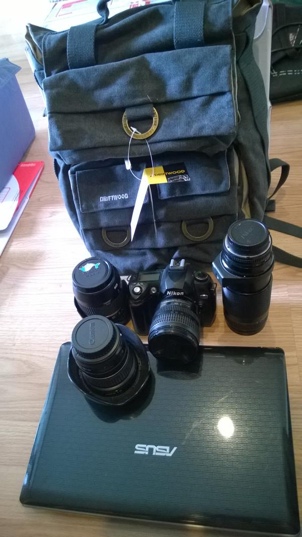 กระเป๋ากล้องแบบเป้สะพายหลัง Drirtwood 7610