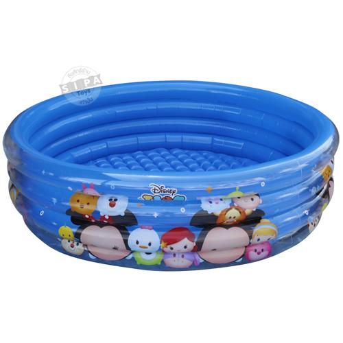 สระน้ำเป่าลม Disney Tsum Tsum ลิขสิทธิ์แท้ ขนาด 150 x 40 ซ.ม ( 5ฟุต)....ฟรีค่าจัดส่งค่ะ