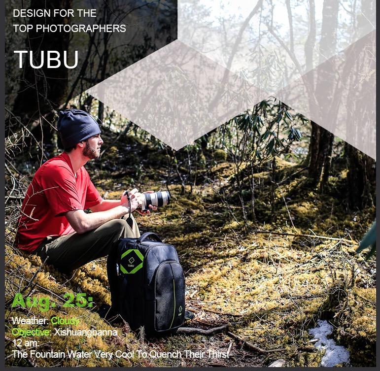กระเป๋ากล้อง TUBU 6080 Backpack