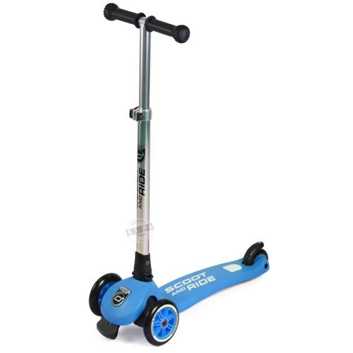 สกู๊ตเตอร์ สีน้ำเงิน Scooter ฟรีค่าจัดส่ง
