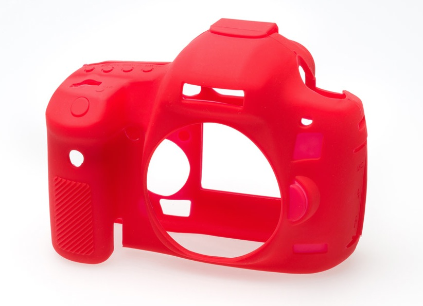 Canon 5D Mark III EasyCover Silicone Case -Red