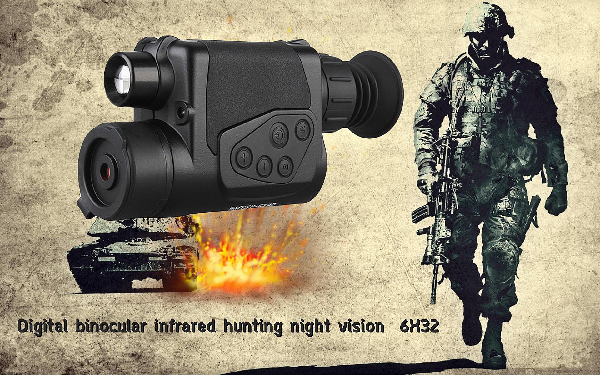 รุ่น ZIYOUHU 6X32 กล้องส่องทางไกล อินฟาเรด (แบบตาเดียว)