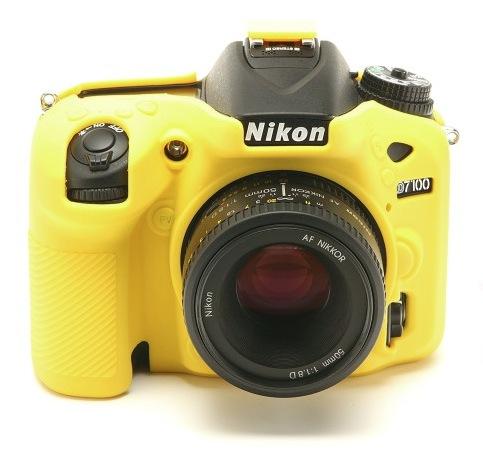 Nikon D7100 EasyCover Silicone Case -Yellow
