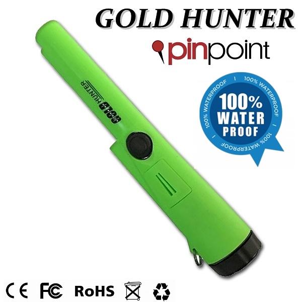 ตัวชี้เป้า เครื่องตรวจจับโลหะ สำหรับระบุตำแหน่งการขุด(กันน้ำ) Gold Hunter Green Pro-pointer 100% Water Proof