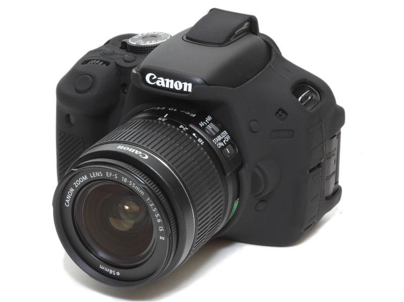 Canon 600D EasyCover Silicone Case -Black
