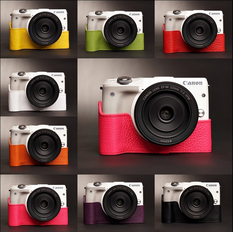 Case กล้อง TP Canon EOS M3 Color collection