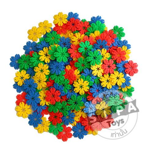 ชุุดตัวต่อดอกไม้ตามจินตนาการ...ฟรีค่าจัดส่ง