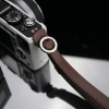 Gariz Leather Wrist Strap : XS-WFSN3 (Brown)