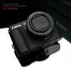 Gariz Leather Half-case for Canon G1X Mark II : Black
