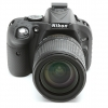 Nikon D5200 EasyCover Silicone Case -Black