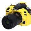 Nikon D600 EasyCover Silicone Case -Yellow
