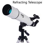 กล้องโทรทรรศน์ชนิดหักเหแสง กล้องดูดาว Tianlang F600/80 TP2-80DZM