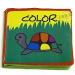 หนังสือผ้าเรียนรู้สี COLOR