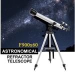 กล้องโทรทรรศน์หักเหแสง กล้องดูดาว Telescope Eyebre F900/60