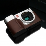 Gariz Leather Half-case for Leica T : Brown