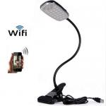 เครื่องดักฟัง โคมไฟ ฟังเสียงและดูวิดีโอแบบเรียวไทม์