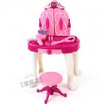 โต๊ะเครื่องแป้งเจ้าหญิงพร้อมคฑารีโมทเล่น MP 3 ได้.