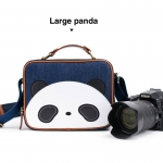 Large Panda / Navy Blue