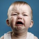 การร้องไห้ของลูกน้อยเวลาลูกกำลังหิว