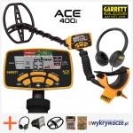 Garrett ACE 400i เครื่องตรวจจับโลหะ ของแท้จากอเมริกา