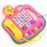 โทรศัพท์ดนตรี สีชมพู (Novel Telephone)...ฟรีค่าจัดส่ง