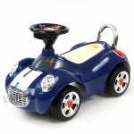 รถขาไถมินิคูเปอร์ สีน้ำเงิน (Baby Sliding Carriage)