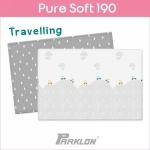 แผ่นรองคลาน PARKLON Pure Soft Mat ลาย Travelling มีลายทั้ง 2 ด้าน ขนาด 130x190x1.2cm - ส่งฟรี!!