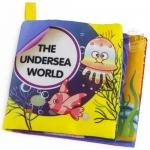 หนังสือผ้าเรียนรู้สัตว์ทะเล The undersea world