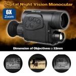 กล้องส่องกลางคืนทางไกล กล้องมองกลางคืนอินฟาเรด (ตาเดียว) รุ่น SMYSY- 6X32