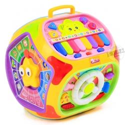 กล่องกิจกรรมเสริมพัฒนาการ 7 ด้าน Educational toy house 7 in 1