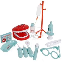 ชุดเครื่องมือหมอฟัน สีเขียว Dental Clinic ฟรีค่าจัดส่ง