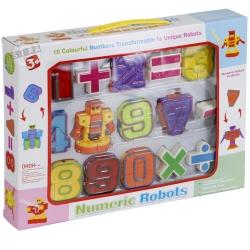 หุ่นยนต์ตัวเลข แปลงร่าง Numcric Robots ฟรีค่าจัดส่ง