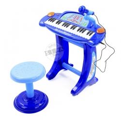 Electronic Keyboard อัดเสียงได้ สีน้ำเงิน