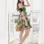 Seoul Secret Cool Girl Grass Green Tone Graphic Print thumbnail 2