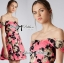 Lady Ribbon Lady Rose Sweet Pink Mini Dress thumbnail 2
