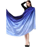 ผ้าพันคอ Colour Gradient Silk (Blue)
