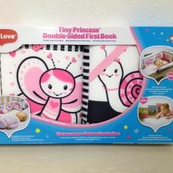 หนังสือผ้า+แผ่นกระตุ้นสายตา Tiny love (แท้100%) สีชมพู
