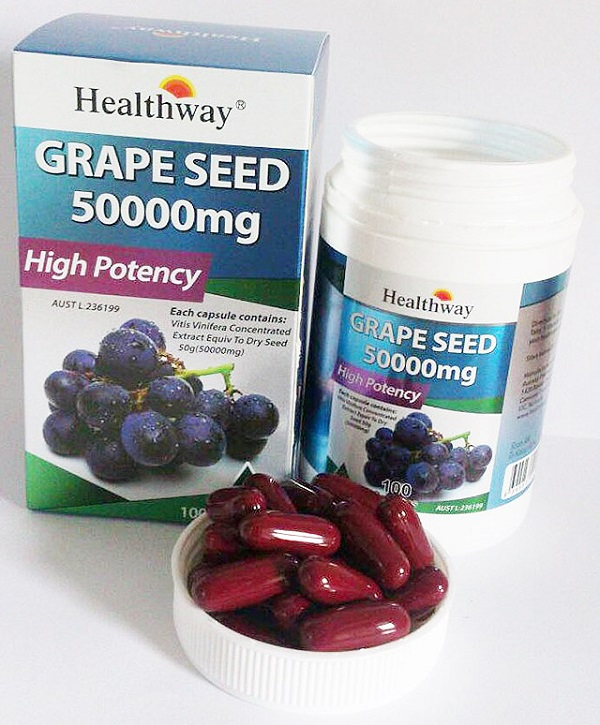 healthway grape seed